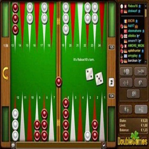 Jouer au backgammon en ligne